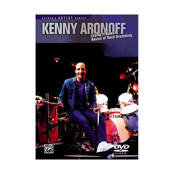 Alfred Publishing Kenny Aronoff: Laying it Down DVD