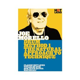 Hal Leonard Joe Morello: Drum Method 1 DVD