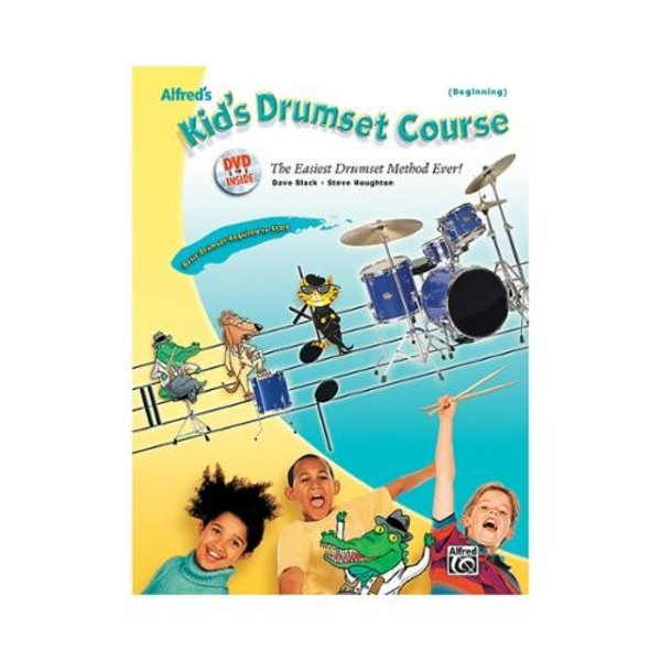 Alfred Publishing Alfred's Kid's Drumset Course; Book & DVD