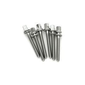 "DW DW Stainless Tension Rod M5 - .8x1.65"" (6-Pack)"