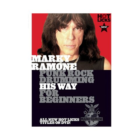 Marky Ramone: Punk Rock Drumming His Way for Beginners DVD
