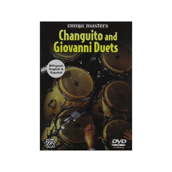 Alfred Publishing Changuito And Giovanni Hidalgo: Conga Masters DVD