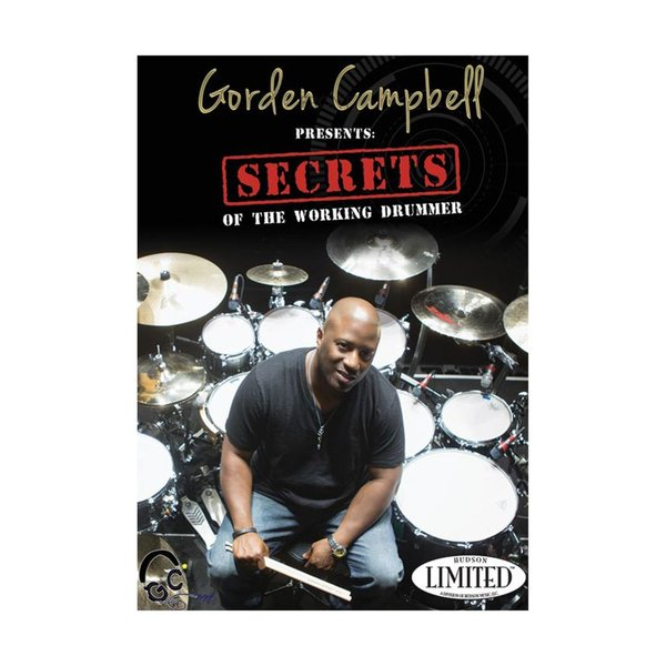 Hal Leonard Gorden Campbell: Secrets of the Working Drummer DVD