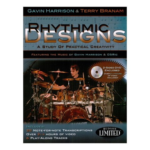 Rhythmic Designs by Gavin Harrison; Book & CD