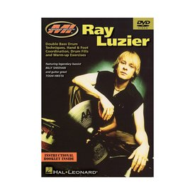 Hal Leonard Ray Luzier: Double Bass Drum Techniques, Hand & Foot Coordination, Drum Fills and Warm-Up Exercises DVD