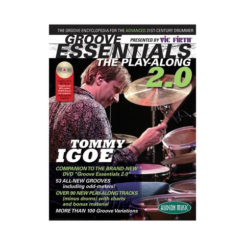 Vic Firth Presents Groove Essentials 2.0 with Tommy Igoe; Book & CD