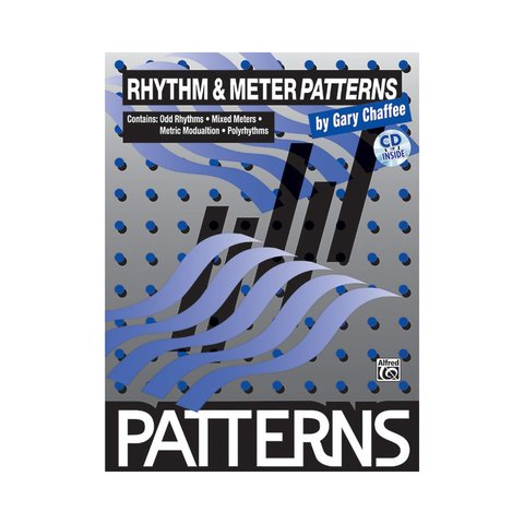 Patterns: Rhythm and Meter Patterns by Gary Chaffee; Book & CD