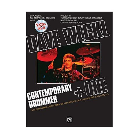 Contemporary Drummer + One by Dave Weckl; Book, CD, & Charts