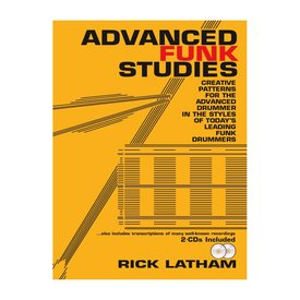 Alfred Publishing Advanced Funk Studies by Rick Latham; Book & 2 CDs