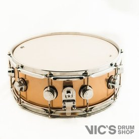 DW DW Collector's 5.5x14 Solid Vintage Copper Snare Drum