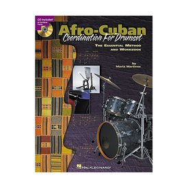 Hal Leonard Afro-Cuban Coordination for Drumset by Maria Martinez; Book & CD