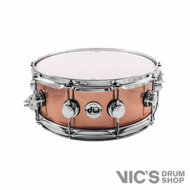 DW DW Collector's 5.5x14 Knurled Bronze Snare Drum