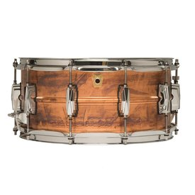 Ludwig Ludwig USA Copper Phonic 6.5x14 Snare Drum; Patina Finish