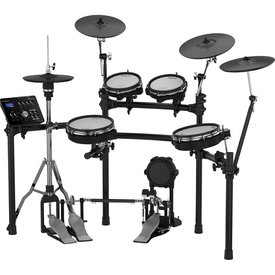 Roland Roland V-Drums Set w/ one TD-25, one PDX-100, one PDX-8, two PDX-6, one CY-12C, one CY-13R, one KD-9, one VH-11, one MDS-9V, four pad mounts, two cymbal mounts, one module mount and cable set