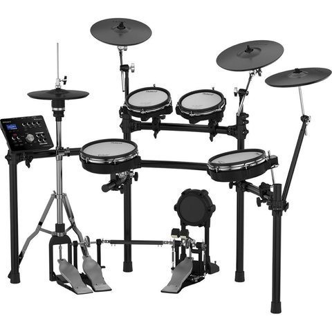 Roland V-Drums Set w/ one TD-25, one PDX-100, one PDX-8, two PDX-6, one CY-12C, one CY-13R, one KD-9, one VH-11, one MDS-9V, four pad mounts, two cymbal mounts, one module mount and cable set
