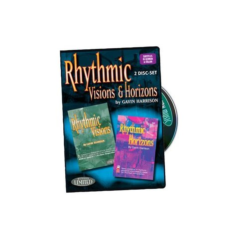 Gavin Harrison: Rhythmic Visions and Rhythmic Horizons DVD Set