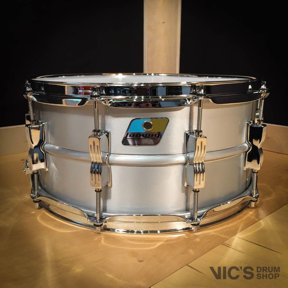 Ludwig Ludwig USA Acrolite 6 5x14 Aluminum Shell Snare Drum