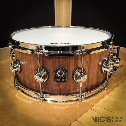 Natal Pure Stave Walnut 6.5x14 Snare Drum