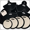 DW Deadhead Complete Pad Set with Bass Drum, Cymbal and Head Pads
