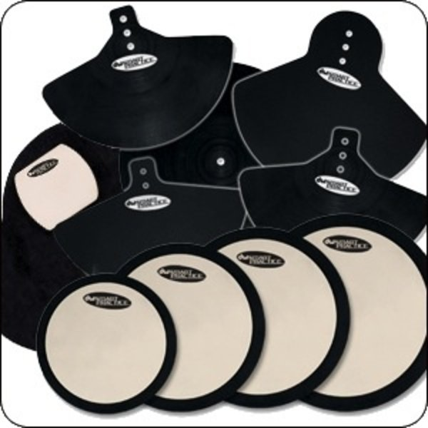 DW DW Deadhead Complete Pad Set with Bass Drum, Cymbal and Head Pads
