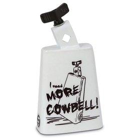 LP LP Black Beauty Cowbell; 'More Cowbell' Graphic