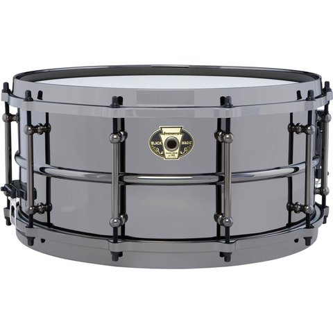 Ludwig LW6514 Black Magic 6.5x14 Brass Snare Drum