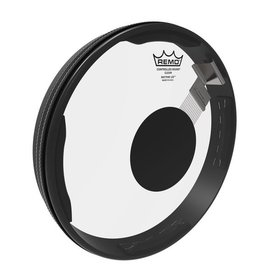 """Remo Remo Drumhead, RHYTHM LID® Snare Kit, 13"""" x 1.5"""", CONTROLLED SOUND®, Clear, BLACK DOT™ On Top"""