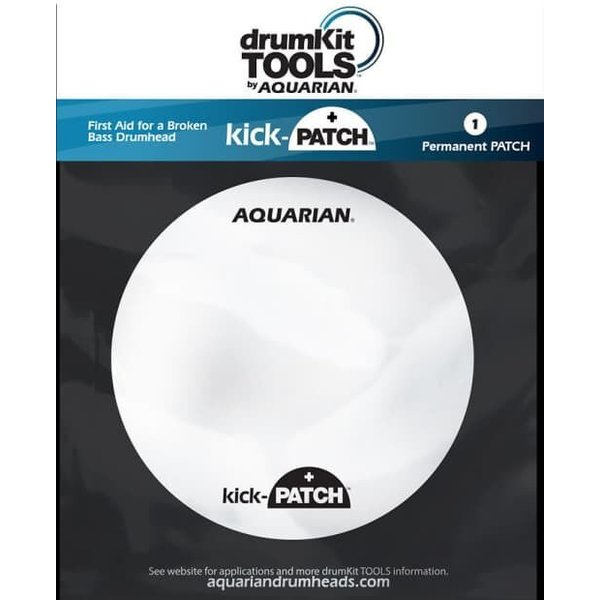 Aquarian Aquarian Kick-Patch Bass Drumhead Temporary Repair Patch