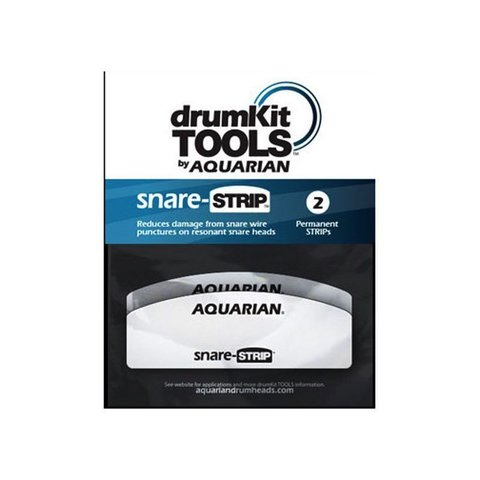 Aquarian Snare-Strip; 2 Pack