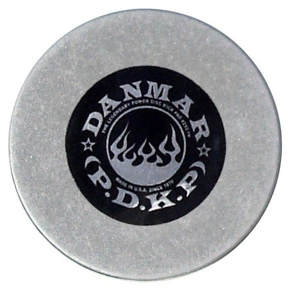 Danmar Danmar Metal Kick Bass Drum Disc - Made From Cold-Rolled Alloy