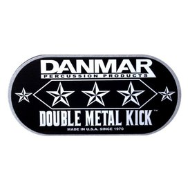 Danmar DANMAR DOUBLE METAL KICK BASS DRUM DISC - Made From Cold-Rolled Alloy