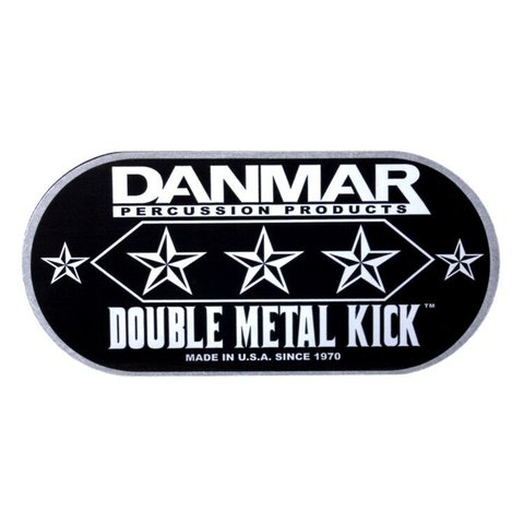 Danmar Double Metal Kick Bass Drum Disk - Made From Cold-Rolled Alloy