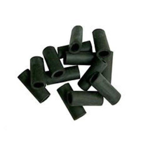 DANMAR BLACK RUBBER SLEEVE For Cymbal Tilter- 12 Per Pack