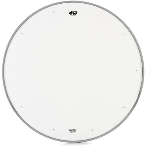 """DW 14"""" Coated Drum Head W/ Tuning Sequence"""