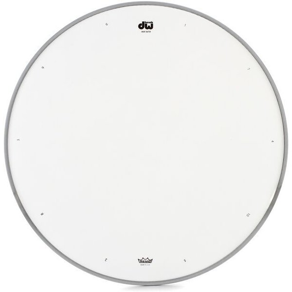 """DW DW 14"""" Coated Drum Head W/ Tuning Sequence"""