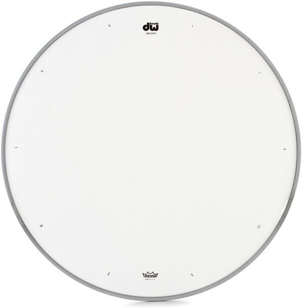 dw dw 14 coated drum head w tuning sequencevic 39 s drum shop. Black Bedroom Furniture Sets. Home Design Ideas
