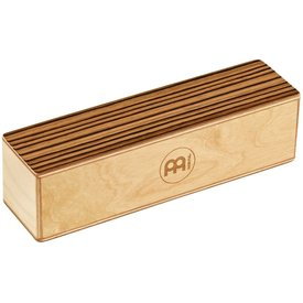 Meinl Meinl Wood Shaker, Medium, Exotic Zebrano
