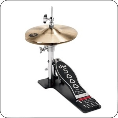 DW 5000 Series Low Boy Hi Hat Stand w/ Cymbals