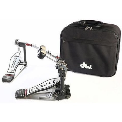 DW 9002 Double Bass Drum Pedal, Case Included