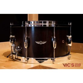 Tama Tama Star Walnut 8x14 Snare Drum in Satin Black Walnut