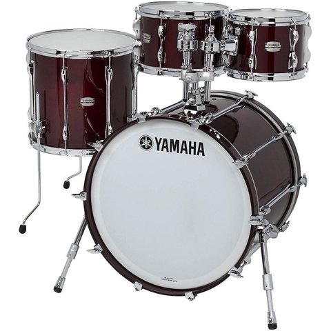 Yamaha Recording Custom 4 Piece Shell Pack in Walnut Finish