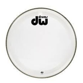 "DW DW 23"" Coated Clear Bass Drum Head"