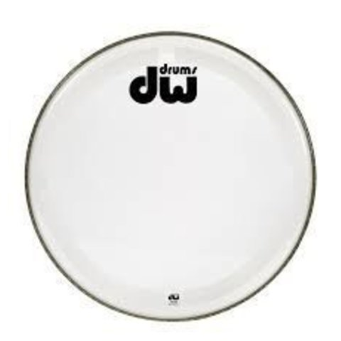 "DW 23"" Coated Clear Bass Drum Head"