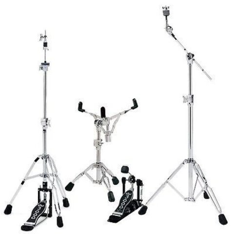 DW 3000 Series Drum Set Hardware Pack; Includes DWCP3300, DWCP3500, DWCP3700 and DWCP3000