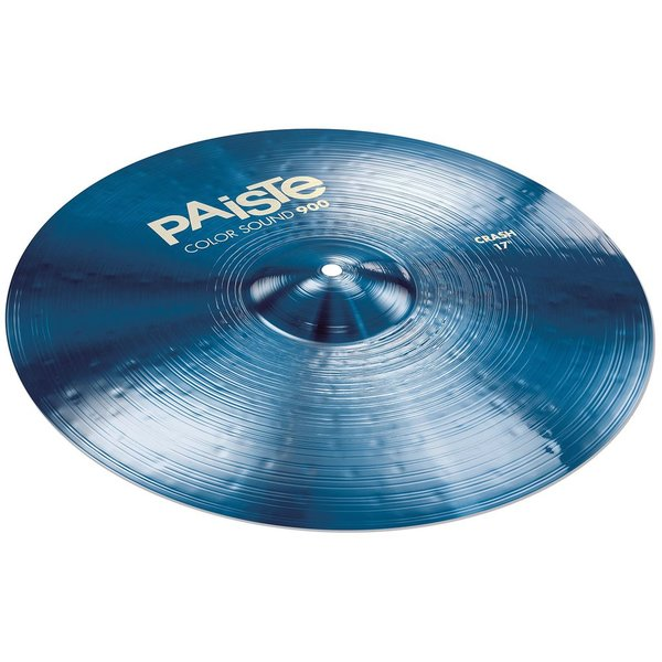 """Paiste Paiste Color Sound 900 Blue 17"""" Heavy Crash Cymbal"""
