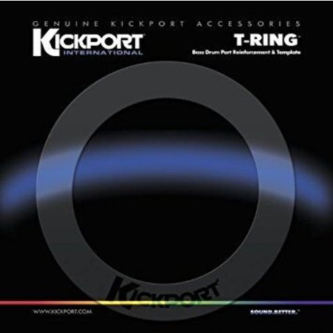 KickPort T-Ring Bass Template - Clear