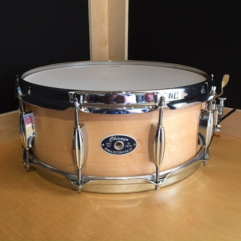 Chicago Drum 5.5x14 Single-Ply Maple Snare Drum