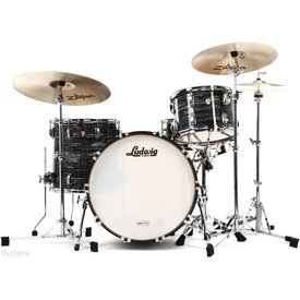 Ludwig Ludwig Classic Maple Fab 3 Piece Shell Pack in Vintage Black Oyster Pearl