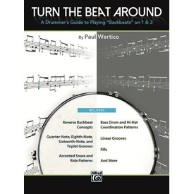 Alfred Publishing Turn The Beat Around by Paul Wertico; Book