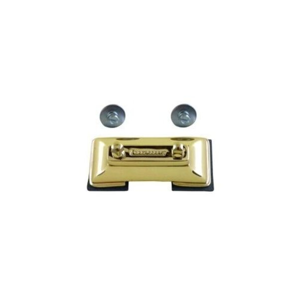 Ludwig Ludwig Brass Plated Die Cast Snare Drum Butt Plate for P85, P86 and P80